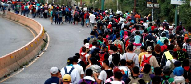 Estados Unidos advierte que no aceptará a la caravana de inmigrantes centroamericanos.- com.do