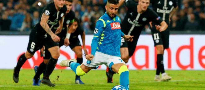 Napoli y PSG se complican en el Grupo C, al empatar a un gol en partido vibrante