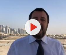 Matteo Salvini felice per quanto sta facendo nel contrasto all'immigrazione clandestina