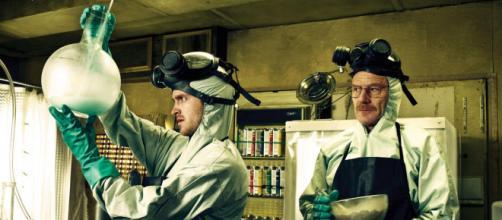 Jesse Pinkman e Walter White mentre producono la loro celebre blue-meth - wired.it