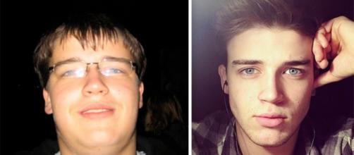 Jovem perdeu muitos quilos e ficou irreconhecível