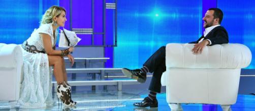 Matteo Salvini svela da Barbara D'Urso: 'Si che sono single'