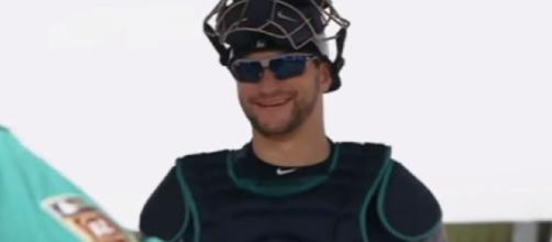 Mike Zunino is the catcher for the Seattle Mariners. - [Seattle Mariners / YouTube screencap]