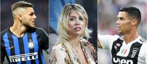 Wanda Nara critica a Cristiano Ronaldo
