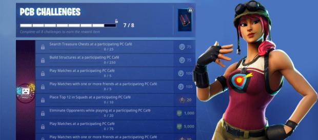 Earn V-Bucks with new challenges. [Image Credit: Own work]