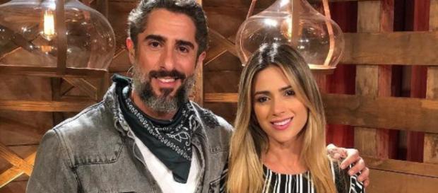 Marcos Mion e Nadja Pessoa, em A Fazenda 10