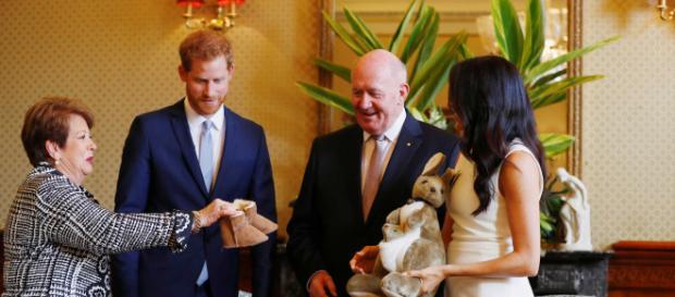 O canguru foi o primeiro presente que o novo bebê real ganhou.