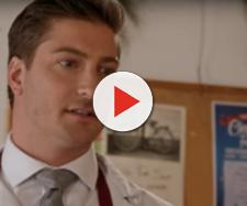 'When Calls the Heart''s Daniel Lissing celebrates love this Christmas, in a new movie and in real life. - [Hallmark Channel / YouTube screencap]