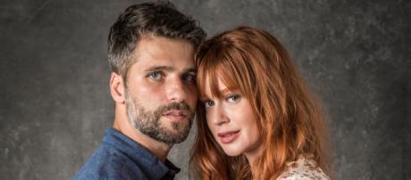 Bruno Gagliasso e Marina Ruy Barbosa serão os protagonistas de O Sétimo Guardião