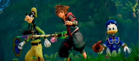 """Screen capture from the latest """"Tangled"""" trailer release for """"Kingdom Hearts 3"""" at Lucca 2018. Photo via YouTube"""