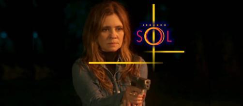 A vilã irá atirar no ex-amante no final de Segundo Sol