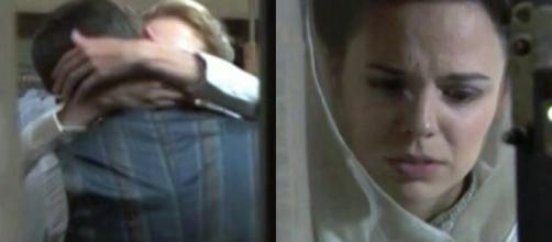 Anticipazioni Una Vita: Adela assiste al bacio clandestino tra Simon ed Elvira.