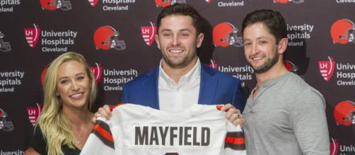 Baker Mayfield and the Cleveland Browns [Image by Emily Wilkinson / Twitter]
