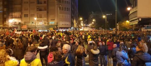 Manifestación histórica en Avilés contra el cierre de Alcoa