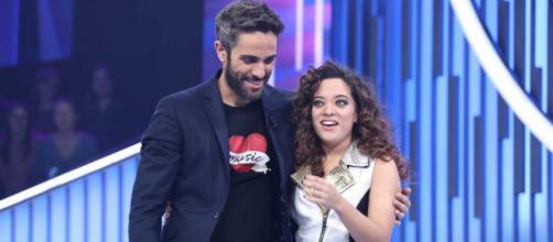 Roberto Leal y Noelia, durante la Gala 7 de 'OT'. / RTVE.es