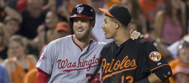 Bryce Harper and Manny Machado are the biggest free agents available. - [Keith Allison / Wikimedia Commons]