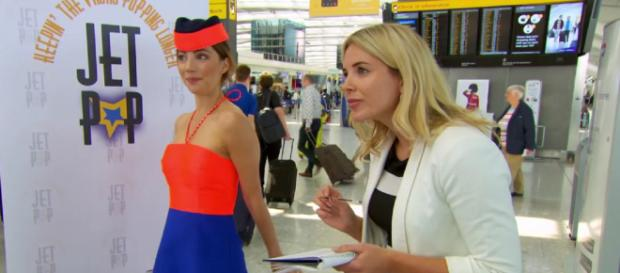Jet Pop flops in budget airline marketing task (Image credit: BBC iPlayer screen grab)