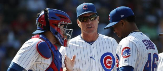 Jim Hickey could be leaving the Chicago Cubs. [Chicago Tribune / YouTube screencap]
