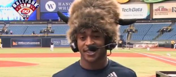 Mallex Smith interview on 'Intentional Talk.' - [MLB Network / YouTube screencap]