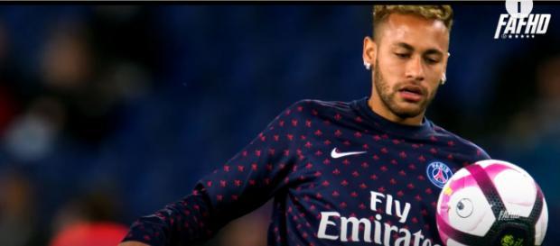 Neymar, jogador do PSG [Imagem via YouTube]