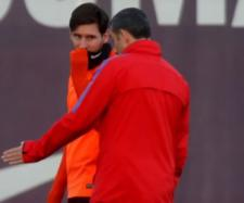 Leo Messi e Valverde (Imagem via Youtube)