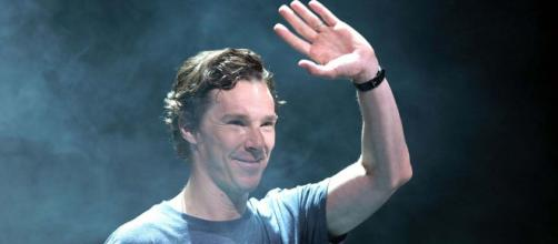 "Benedict Cumberbatch is the voice behind ""The Grinch."" [Image: Gage Skidmore/Wikimedia]"