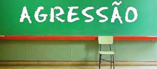 Casos de agressões contra professores