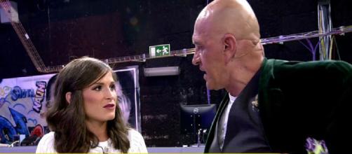Kiko Matamoros ataca a Verdeliss en 'Sálvame'. / telecinco.es