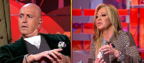 Kiko y Belén, este jueves en 'Sálvame'. / Telecinco