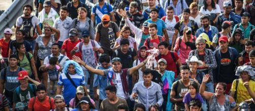 la caravane des migrants honduriens