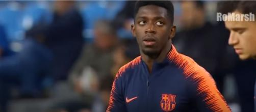 Ousmane Dembélé [Imagem via YouTube]