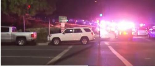 Thousand Oaks: 'Mass shooting' reported at California bar. [Image source/BBC News YouTube video]