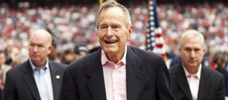 Former President George H. W. Bush / Photo via AJ Guel - Flickr