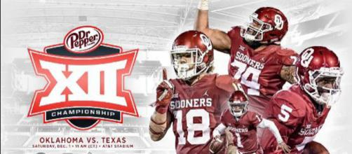Alabama, Clemson, Ohio State and Oklahoma fighting for playoff spot in final week [Image by Oklahoma Football / Twitter]