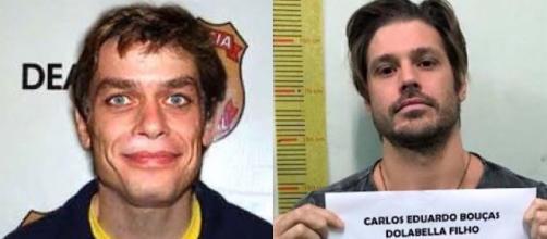 Fábio Assunção e Dado Dolabella já foram detidos por infringirem a lei.