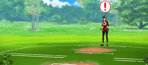 Players will be able to battle with other trainers in Pokemon Go. [image credits MYSTIC7/YouTube screenshot]