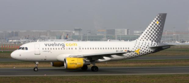 Un aereo della Vueling Airlines
