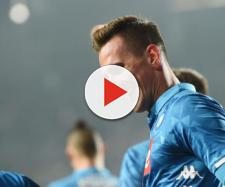 Champions League - Napoli, Milik