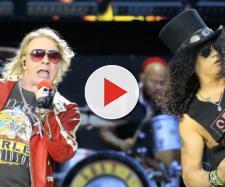 Guns N'Roses: Axl Rose e Slash