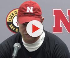 A Nebraska press conference. - [HuskerOnline Video / YouTube screencap]