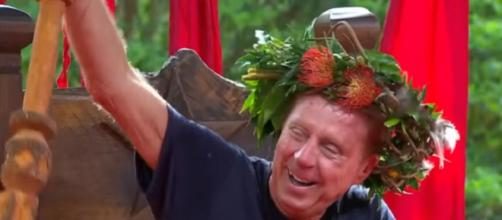 Harry become King of the 2018 Celebrity Jungle (Image credit: I'm A Celebrity...Get Me Out Of Here!/ YouTube.com)