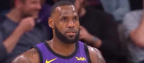 LeBron James came up with 20 points to lead the Lakers to their 16th win this season. - [NBA / YouTube screencap]