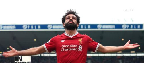 Mohamed Salah auteur d'un triplé avec Liverpool