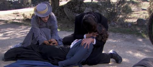 Una Vita anticipazioni: Adela muore per salvare Simon