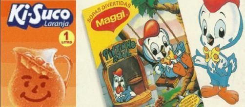 Várias delícias que foram sucesso entre a criançada dos anos 90. (Reprodução).