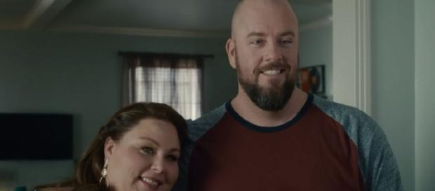 Kate and Toby are having a baby on 'This is Us.' - [Entertainment Tonight/ YouTube screencap]