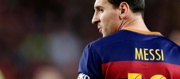 Lionel Messi, l'attaquant du Barcelone