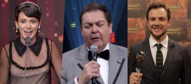 Melhores do Ano, Bianca, Faustão e Sérgio Guizé (TV Globo)