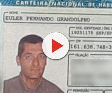 Carteira de habilitação do atirador foi encontrada em uma mochila (Reprodução/Daniel Mafra/EPTV).