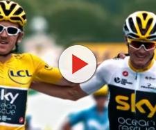 Geraint Thomas e Chris Froome, leader dello squadrone Sky